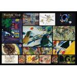 Puzzle  Grafika-00876 Kandinsky Vassily - Collage