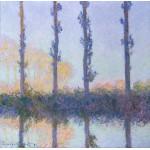 Puzzle  Grafika-00887 Claude Monet: Les Quatre Arbres, 1891