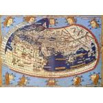 Puzzle  Grafika-00918 Claudius Ptolemy: Carte du Monde, 1482