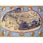 Puzzle  Grafika-00919 Claudius Ptolemy: Carte du Monde, 1482