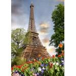 Puzzle  Grafika-01025 Tour Eiffel, Paris