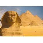 Puzzle  Grafika-01080 Sphinx et Pyramides de Gizeh