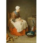 Puzzle  Grafika-01122 Jean Siméon Chardin : La Fille de Cuisine, 1738