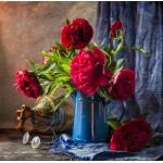 Puzzle  Grafika-01133 Pivoines Roses