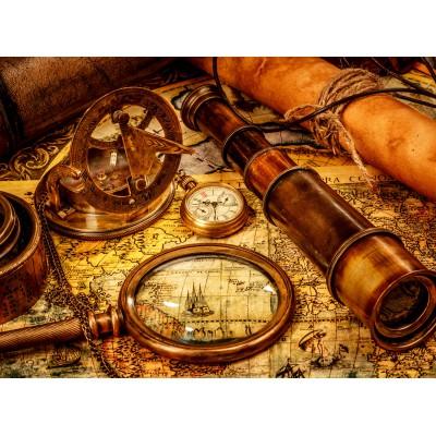 Puzzle Grafika-01145 Vintage Travel