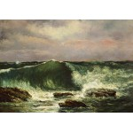 Puzzle  Grafika-01157 Gustave Courbet: La Vague, 1870