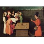 Puzzle  Grafika-01164 Bosch : Le Prestidigitateur, 1502