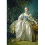 Puzzle  Grafika-01167 François Boucher : Madame Bergeret, 1766