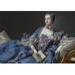 Puzzle  Grafika-01168 François Boucher : Madame de Pompadour, 1758
