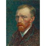 Puzzle  Grafika-01169 Vincent Van Gogh : Autoportrait, 1887