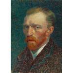 Puzzle  Grafika-01170 Vincent Van Gogh : Autoportrait, 1887
