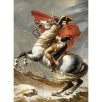 Puzzle  Grafika-01186 Jacques-Louis David: Bonaparte franchissant le Grand Saint-Bernard, 20 mai 1800