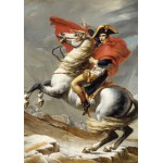 Puzzle  Grafika-01187 Jacques-Louis David: Bonaparte franchissant le Grand Saint-Bernard, 20 mai 1800