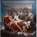 Puzzle  Grafika-01194 Jacques-Louis David: Mars désarmé par Vénus, 1824