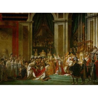 Puzzle Grafika-01195 Jacques-Louis David: Le Sacre de l'Empereur Napoléon 1er, 1805-1807