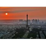 Puzzle  Grafika-01233 Coucher de Soleil sur Paris