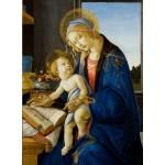 Puzzle  Grafika-01284 Sandro Botticelli: La Madone du Livre, 1480