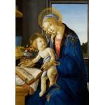 Puzzle  Grafika-01285 Sandro Botticelli: La Madone du Livre, 1480