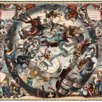 Puzzle  Grafika-01290 Andreas Cellarius: Southern Hemisphere Constellations, 1661