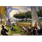 Puzzle  Grafika-01291 Paul Cézanne: Les Pêcheurs (Scène Fantastique), 1875