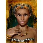 Puzzle  Grafika-01303 Femme Africaine