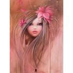 Puzzle  Grafika-01307 Misstigri : Sweet Pinky Girl