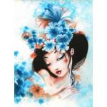 Puzzle  Grafika-01323 Misstigri : Blue Flowers