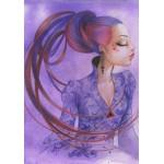 Puzzle  Grafika-01339 Misstigri : Violette