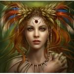 Puzzle  Grafika-01389 Tribal Goddess