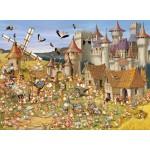 Puzzle  Grafika-01427 François Ruyer: Le Château des Lapins