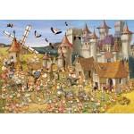 Puzzle  Grafika-01428 François Ruyer: Le Château des Lapins