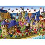 Puzzle  Grafika-01448 François Ruyer: Sorcières