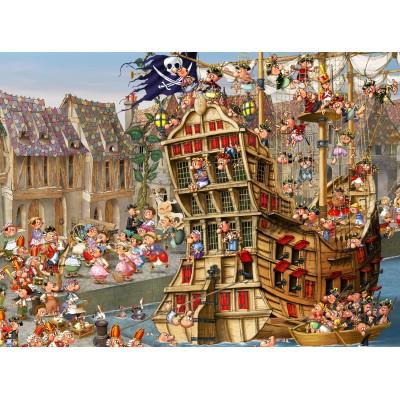 Puzzle Grafika-01456 François Ruyer: Pirates