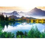 Puzzle  Grafika-01467 La Montagne derrière le Lac
