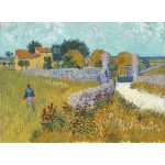 Puzzle  Grafika-01511 Vincent Van Gogh - Ferme de Provence, 1888