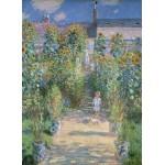 Puzzle  Grafika-01532 Claude Monet - Le Jardin de l'Artiste à Vétheuil, 1880