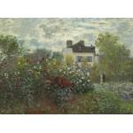 Puzzle  Grafika-01544 Claude Monet - Jardin de l'Artiste à Argenteuil, 1873