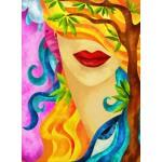 Puzzle  Grafika-01570 Macchia - The Hidden Woman