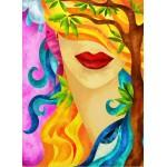 Puzzle  Grafika-01572 Macchia - The Hidden Woman