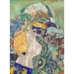 Puzzle  Grafika-01593 Gustave Klimt : Baby (Cradle), 1917-1918