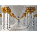 Puzzle  Grafika-01598 Mosquée Cheikh Zayed, Abou Dabi, Emirats Arabes Unis