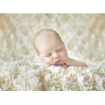 Puzzle  Grafika-01605 Konrad Bak: Baby sleeping in the Roses