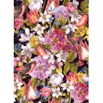 Puzzle  Grafika-01643 Vintage Flowers and Birds