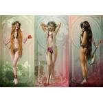 Puzzle  Grafika-01646 Les Trois Muses