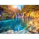 Puzzle  Grafika-01655 Parc National des Lacs de Plitvice, Croatie