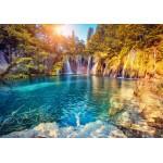 Puzzle  Grafika-01656 Parc National des Lacs de Plitvice, Croatie