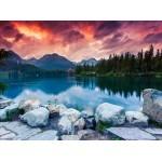 Puzzle  Grafika-01658 Parc National des Hautes Tatras, Slovaquie, Pologne