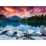Puzzle  Grafika-01660 Parc National des Hautes Tatras, Slovaquie, Pologne
