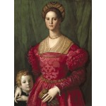 Puzzle  Grafika-01700 Agnolo Bronzino : Jeune Femme et Son Petit Garçon, 1540