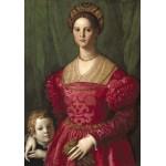 Puzzle  Grafika-01701 Agnolo Bronzino : Jeune Femme et Son Petit Garçon, 1540